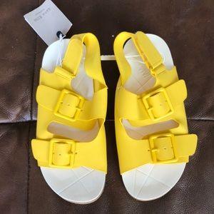 Kids sandals - yellow - Zara Kids